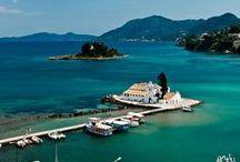 MY FAVORITE ISLAND CORFU , GREECE / ΚΕΡΚΥΡΑ  ΜΟΥ
