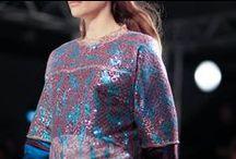 Shimmer and Shine / Metallics, glitter, sequins, glitzy embellishment.