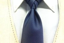 """Tie Aficionado / """"A well-tied tie is the first serious step in life."""" - Oscar Wilde"""