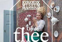 Tea is Hot! tentoonstelling in Keramiekmuseum Tiendschuur, Tegelen / Tea is Hot! nu in Tiendschuur: http://ifthenisnow.eu/nl/agenda/tea-is-hot en bekijk ter voorbereiding de video over de inmiddels gesloten tentoonstelling Op de Thee in Princessehof in Leeuwarden http://bit.ly/13xTXID