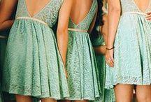 Miętowe inspiracje / #mint #wedding #bride #weddingdress