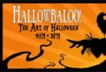 Hallowbaloo! NW Art Show / Premier Halloween art show & sale in Redmond, WA on 9/17/2016 from 9am-3pm.