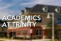 Academics / Trinity is unique in that it offers schooling for students of all ages. The Lower School serves grades K through 6, and the Upper School serves grades 7 through 12. Visit the school website or browse the pins below to learn more.