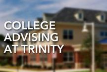 College Advising / Trinity's student-centered college advising program is a comprehensive process involving a variety of services that provide students and parents with resources for applying to college. Learn more by visiting the website or by browsing the pins below.