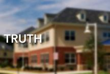 Truth / Imparting truth is one of Trinity Christian School's three objectives. Truth is the word of God, written and incarnate.