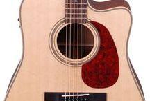 Acoustic guitars/basses