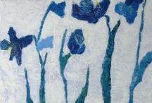 Kursus Blå blomster