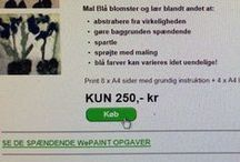 Sådan køber du og downloader wepaint.dk kursus / Så nemt er det, når du køber et lærerigt og sjovt wepaint malekursus