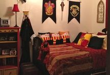 Harry Potter Designs for Bedroom / Ideas for a Harry Potter themed bedrooms