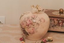 DECOUPAGE POMEGRANATE