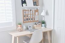 Work space at home - home office
