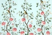 < Wallpaper & Fabric > / by Flora Franco