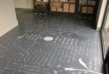 OlleyFin - Floor Painting Ideas / Ideas for Gail's new floors