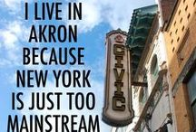 Akron / We love this city. #Akron