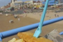 Blackpool Promenade / Blackpool promenade is still one of the most popular and loved in the world today.