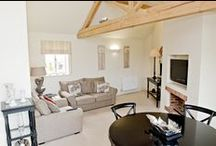 Agnes's Cottage  / Here you have the beautiful Agnes's Cottage our first cottage at The Priory. This is a ground floor cottage for 3 people featuring Scottish contemporary design and high pitched ceiling and beams.
