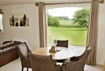 Fitz Simon Lodge / Here is out fifth cottage, a light, airy cottage sleeping 4 persons designed in a contemporary Scottish style overlooking fields and woodlands.