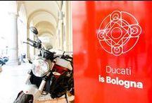 """"""" LANCIO STAMPA 1008 – BOLOGNA – 24/30 GIUGNO 2014 """" I Portici Hotel Bologna. / Ducati Bologna"""