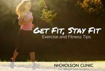 Fitness Tips / Fitness and exercise tips for weight loss, weight loss management, and people who have had weight loss surgery.