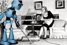 Domestic Robots - Past, Present & Future / Robot slaves to make your life easier, let's face it we can't have a robot uprising until you all own a robot, phase one has been initialised, buy a robot today.