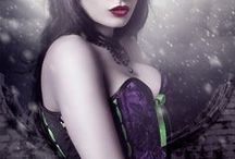 Dark Couture / Miss Self Destructive. Alt Couture & Corsetry. Inspiration: gothic, dark, fetish, halloween, night.
