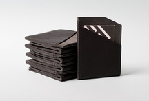 Modern Industry Leather Goods / A special collection of hand made leather goods that we make in house. http://modernindustry.bigcartel.com