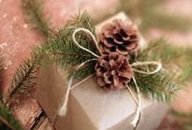 Xmas / Trees, wrapping paper, cards, sour dough decor and other ideas