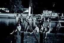 Calendrier des Dieux de l'Aviron / Les rameurs de l'ACLC se sont mis à nus pour récolter des fonds pour l'association humanitaire WILLSPORT et pour l'Aviron Club de Lyon Caluire.