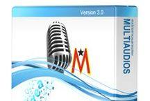 Multiaudios / Conseguí tu box en la web con los mejores contenidos. Todo el audio para radio en www.multiaudios.com / by Leonardo Mesa