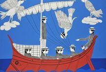 Greek, like Sea Breeze & Light / Greek Artists and their Artwork