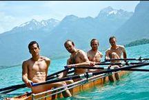 Calendrier 2015 des dieux de l'aviron / photos du calendrier 2015 des dieux de l'aviron. Cette année le projet est en partenariat avec l'association américaine Gay + Lesbian Rowing Federation qui lutte contre l'homophobie dans le sport.