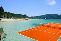 Cool Sports Imagery / Scenic courts, cool tennis images