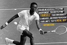 Tennis Motivation / Quotes and motivation from famous tennis pros