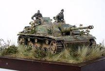 Miniature Worlds / Tamiya 1/35 and other miniature models