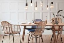 Dining Room | DIY Home Decor / Dining room home decor ideas for a rustic, farmhouse, or modern style, or perhaps a mixture of everything. A dining room is more than just a table and chairs it's a place to gather with family and friends, so here is some inspiration to make it your own.