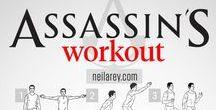 Cvičení / Fitness / Piny inspirované cvičením a posilováním svalů celého těla