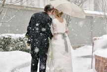 A winter wedding / by Kristen H