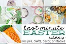 EASTER Ideas / Easter is a time we love coming together with friends and family and relive our inner kids! From the Easter Decor, to swapping of Easter Eggs, to just spending time with one another and remembering the real meaning of Easter...