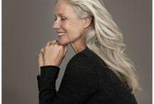 Age ,silver hair / Móda