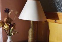 Light Fixtures / Handmade Lamps
