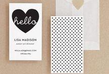 Design – Business Card Ideas