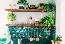 Interior – Küche und Esszimmer