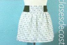 Faldas / Faldas realizadas por las alumnas en clasesdecostura.com