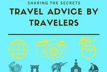 Travel Advice by the Travelers / Tips and Travel destinations by the experts.  If you want to collaborate with this board you need to first follow my account and then send me an e-mail to nomadicchica@gmail.com for an invite to share your travel stories and tips! **Feel free to pin your last blog posts as well from other travel bloggers. Happy pinning!