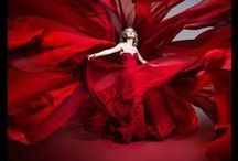 RED / Red is the color of my passion, the color of my heart.