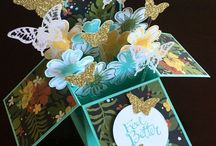 Box cards by Maple Syrup Designs / Box cards by www.maplesyrupdesigns.com