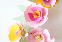 DIY – Blumen aus Papier