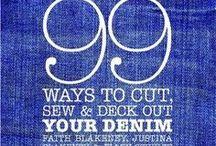 Denim Jeans Джинсы / Jeans - Use, repair, recycle, repurpose