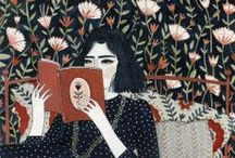 a lifetime of reading / She is too fond of books and it has turned her brain.  •   Louisa May Alcott / by Linda Reynolds