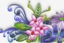 Quilling / Quilling tutorials, patterns, and inspirations